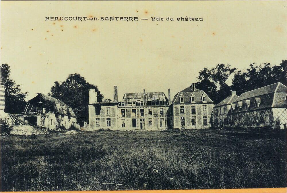 Château après-guerre