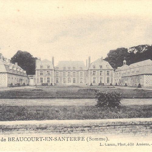 Château avant-guerre